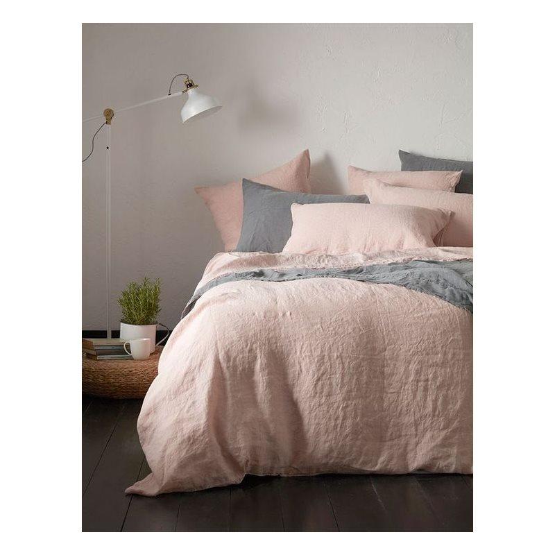 Linen pink blush