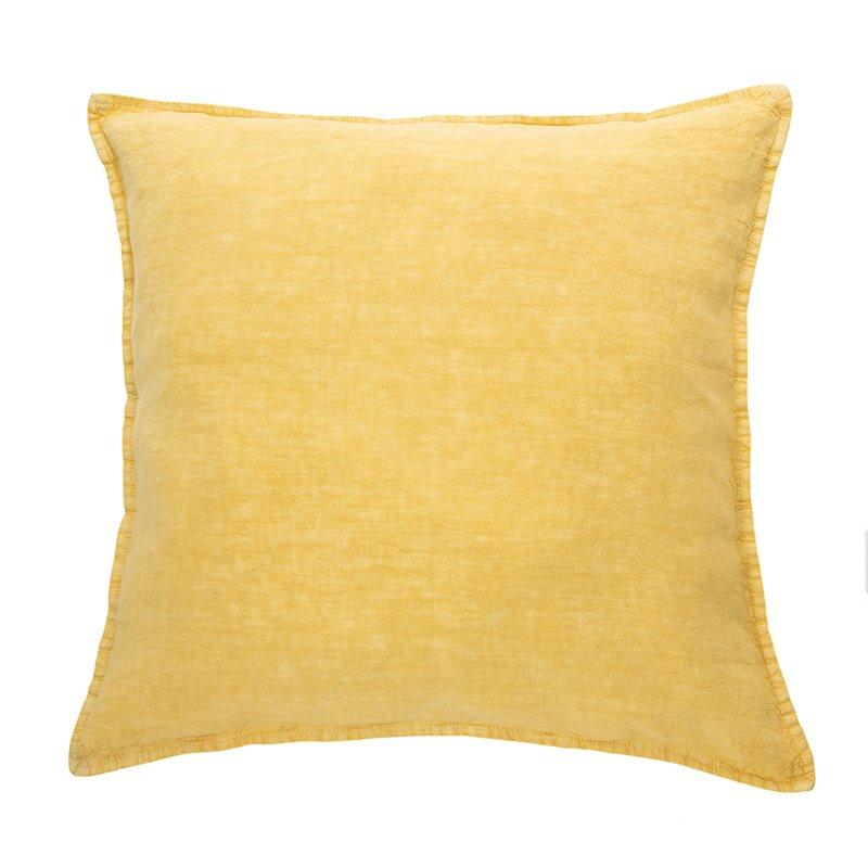 Linen stone wash yellow