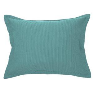 Cache oreiller turquoise Bungalow