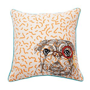 Coussin bull dog Funny