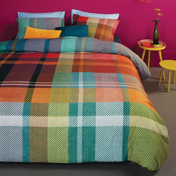 1980 colorful duvet cover