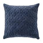 Velours blue european pillow