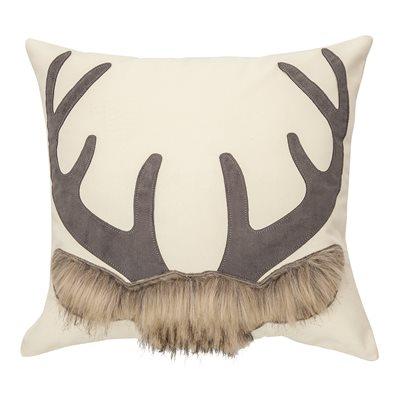 Archie cream deer cushion