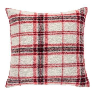 Tartan plaid cushion