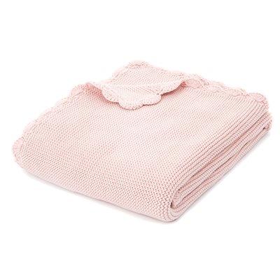 Jasmine pink baby blanket