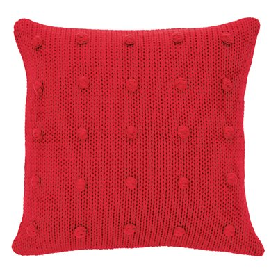 Coussin rouge Cranberry