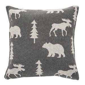 Adirondacks grey cushion