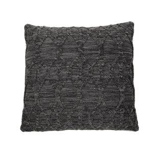 Oreiller européen tricot Fudge