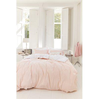 Housse de couette rose pâle Tranquility