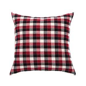 Billy red european pillow