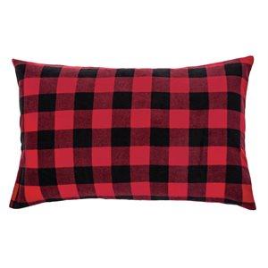 Cache oreiller à carreaux Elmer