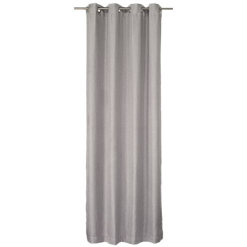 Bachelor grey curtain panel