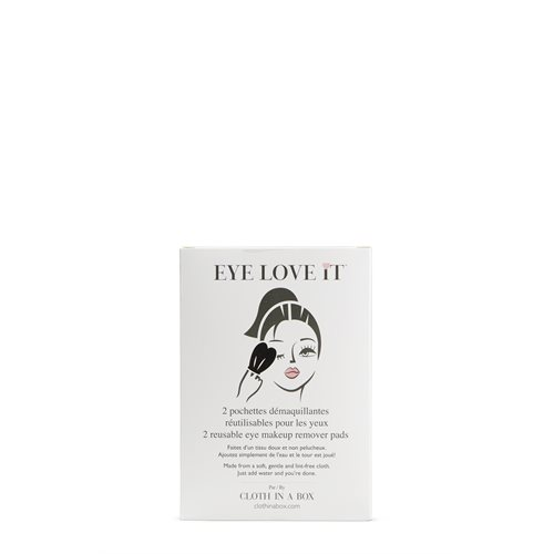 Eye love it makeup remover pads