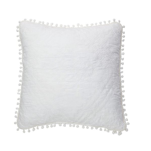 Ethos white cushion cover