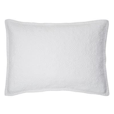 Cache oreiller blanc Eva