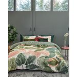 Guacamole pink and green duvet cover