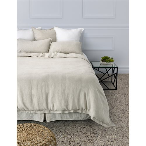 Linen natural duvet cover