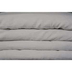 Linen grey duvet cover
