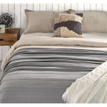 Nantucket grey blanket