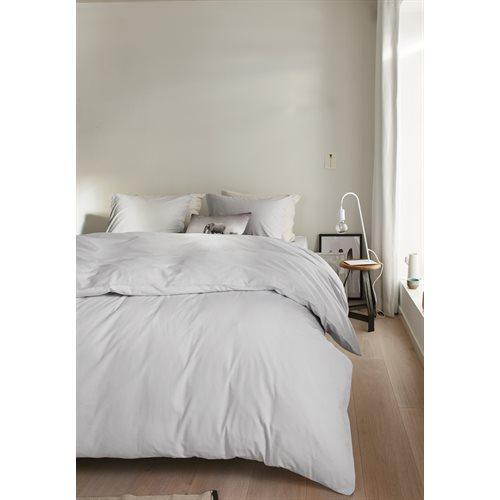Organic light grey duvet cover