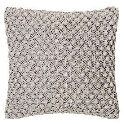 Popcorn light grey cushion