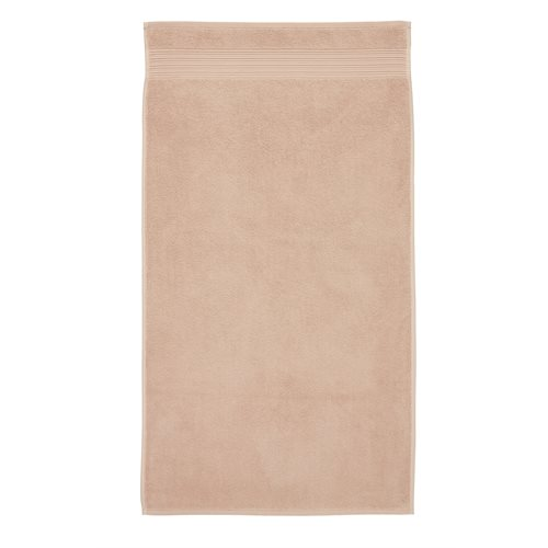Spa soft pink guest towel