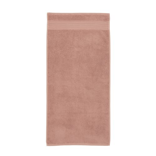 Spa pink hand towel