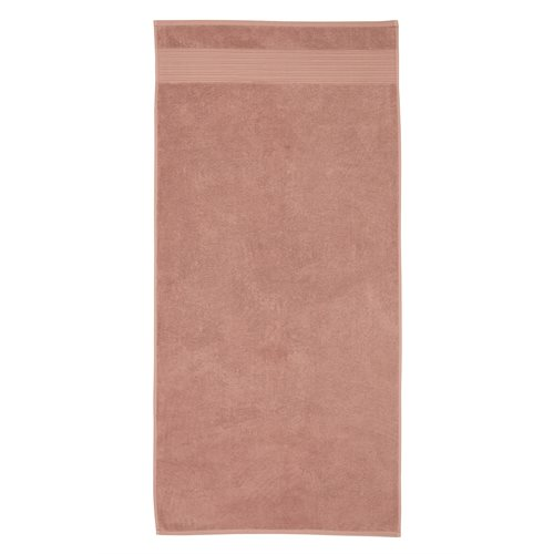 Spa pink bath towel