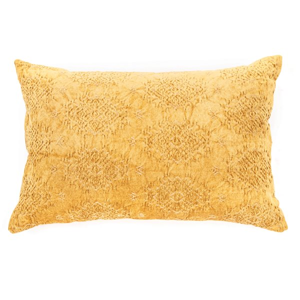 Coussin moutarde Toro