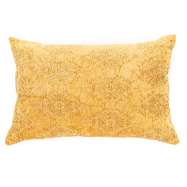 Toro mustard cushion