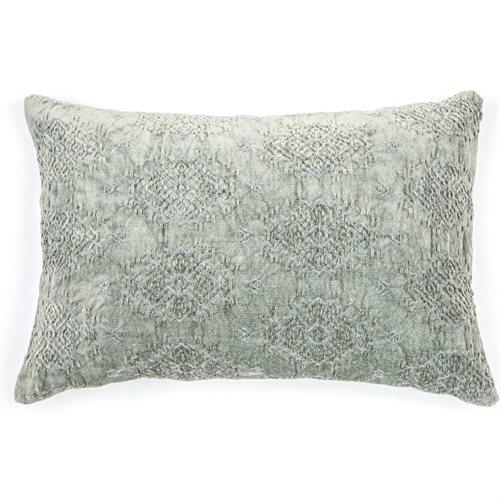 Toro sage cushion