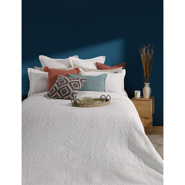 Taylor white coverlet