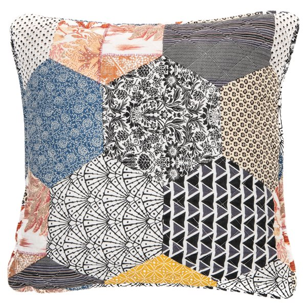 Cache coussin patchwork Abee