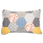 Abee patchwork pillow sham