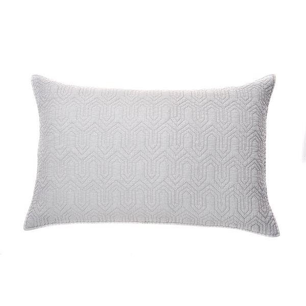 Alix grey pillow sham