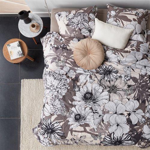 Housse de couette à motifs floraux Amandine