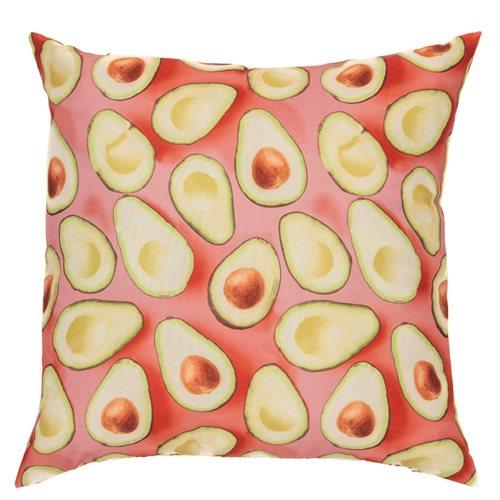 Avocado printed cushion