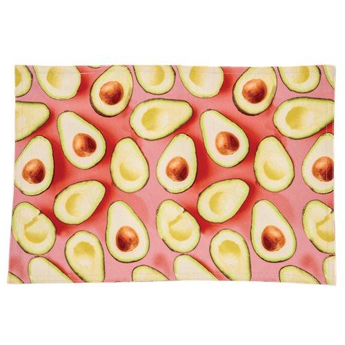 Avocado printed placemat
