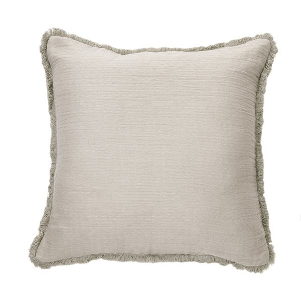 Coussin gris Bloom