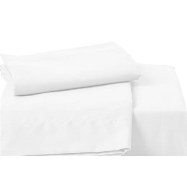 Ensemble de draps blanc Chantilly