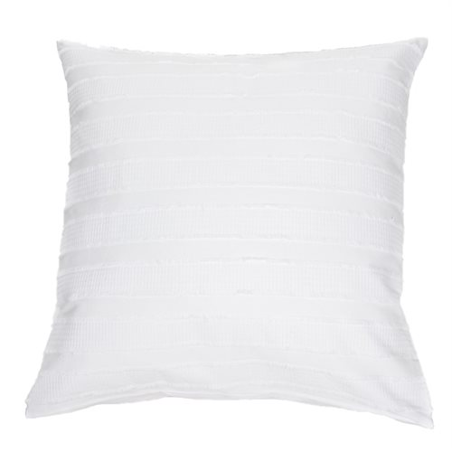 Cache oreiller européen blanc Coconut