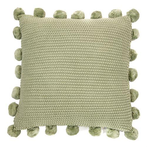Couscous sage cushion