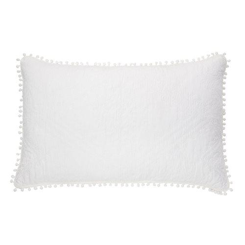Cache oreiller blanc Ethos