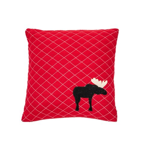 Coussin rouge Ginger