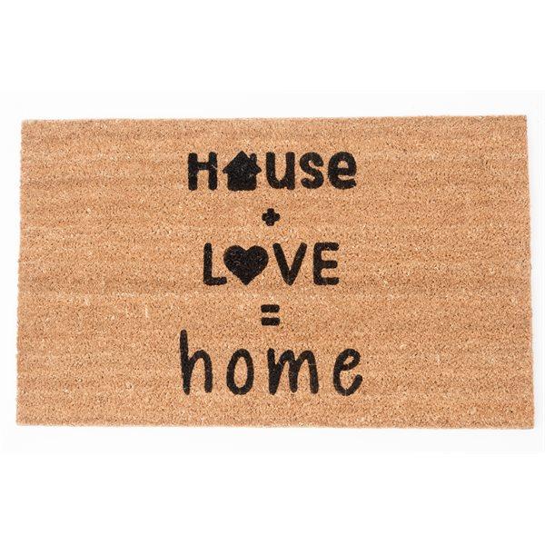 Carpette de coco House Love...