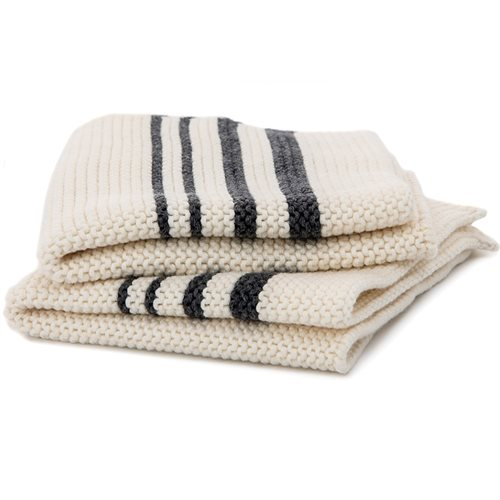 Janette striped dish cloth