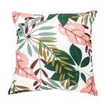 Coussin feuillage tropical Jungle