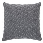 Liam dark grey cushion
