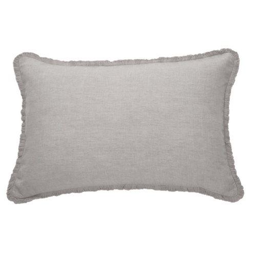 Coussin gris pâle Linen