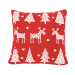 Merry red cushion